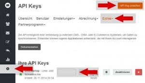 CleverReach API Schlüssel